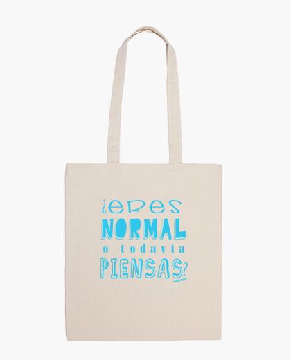 Bolsa ¿Eres normal o todavía piensas? Malavir