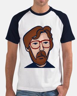 Eric Clapton Hombre, estilo béisbol, blanca y azul marino