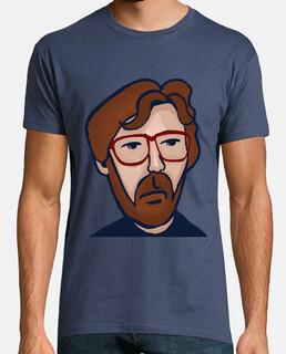 Eric Clapton Hombre, manga corta, denim, calidad extra