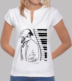 erik satie piano  femme