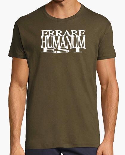 T-shirt errare humanum est