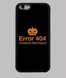 erreur 404 costume non trouvé