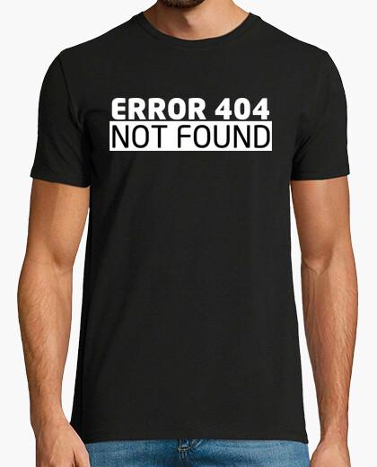 Tee-shirt Erreur 404 geek