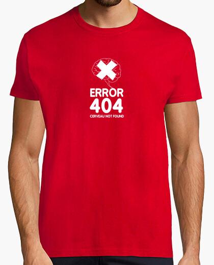 Tee-shirt Error 404