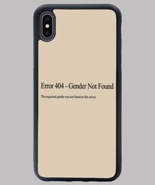 Error 404 - Gender Not Found