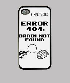 ERROR 404: BRAIN NOT FOUND (iPhone 4)