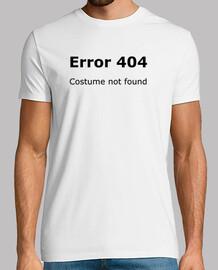 error 404 costume not found