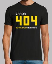 Error 404: Democracia Not Found