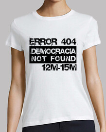Error 404 Democracia not found