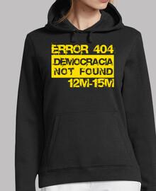 Error 404 Democracia not found (amarill