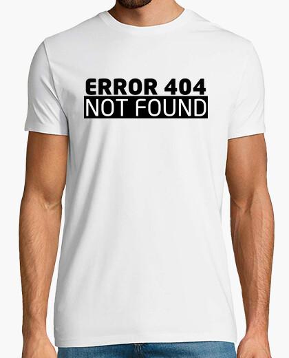 Camiseta Error 404 geek