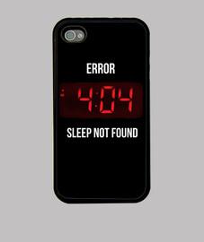 Error sleep case
