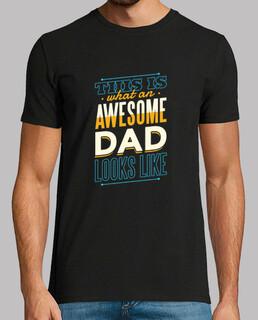 erstaunlicher Vater