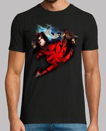 Erza, Gray y Natsu v3 Fairy Tail para hombre