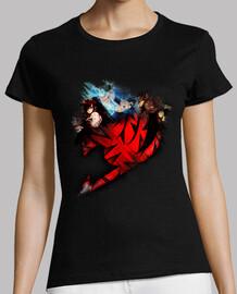 Erza, Gray y Natsu v3 Fairy Tail para mujer