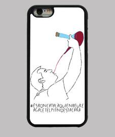 És bon català qui en beure a galet el pit no es tacarà - Funda iPhone 6