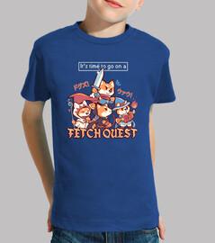 es hora de ir a buscar misiones - camisa para niños