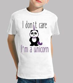 Es ist mir egal. Ich bin ein Einhorn