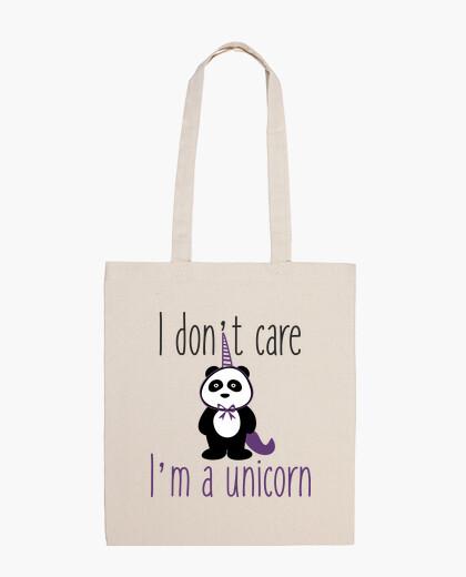 Tasche Es ist mir egal. Ich bin ein Einhorn