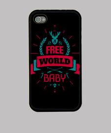 es un mundo libre del bebé iphone 4