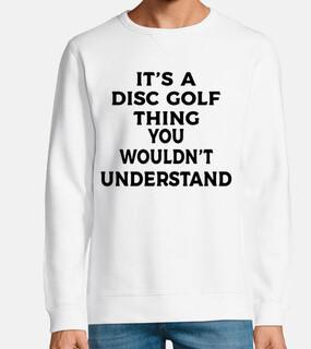 es una cosa de disc golf