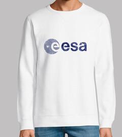 ESA Space Agency Vintage Emblem