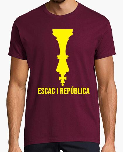Camiseta Escac i república home