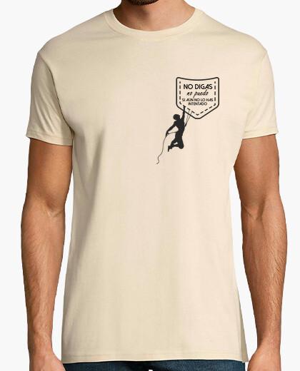 Camiseta Escalada al bolsillo + frase