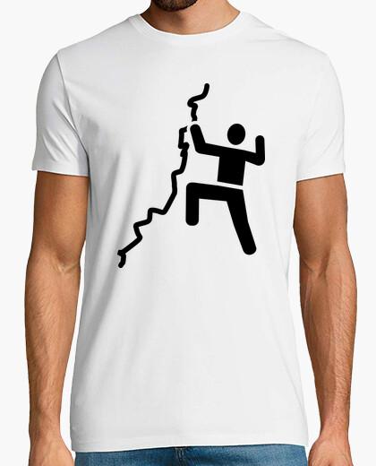 Camiseta escalada de roca