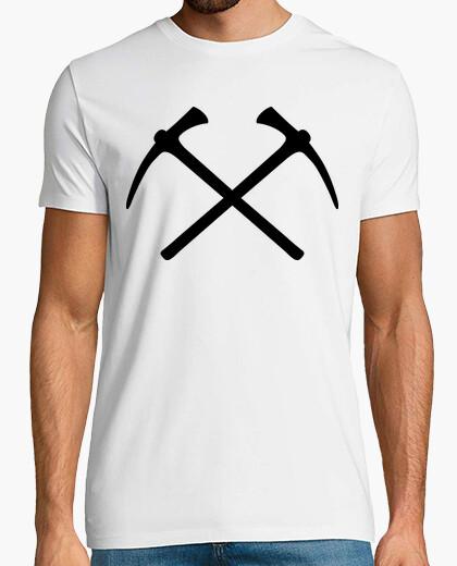 Camiseta escalada recoge el hacha
