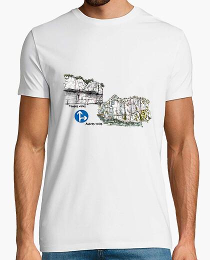 Camiseta escalada topo