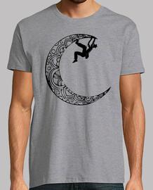 Escaladora en la luna