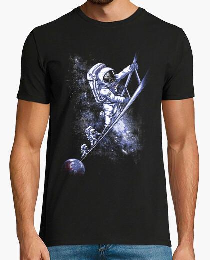 Camiseta escalera espacio