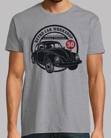 Escarabajo 1950 coche vintage