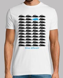 escarabat berline - conduire différents (noir