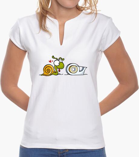 Tee-shirt escargot et le zèle