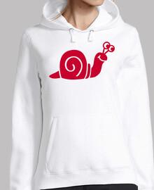 escargot rouge