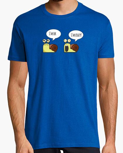 Tee-shirt escargots bipolaires