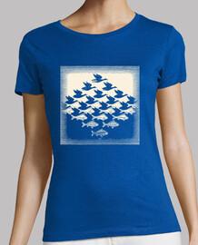 Escher. Cielo y Agua