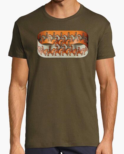 Camiseta Escher. Horseman.
