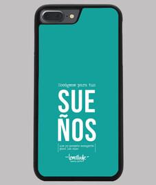 Escógeme para tus sueños - Funda iPhone 7/8 PLUS, negra