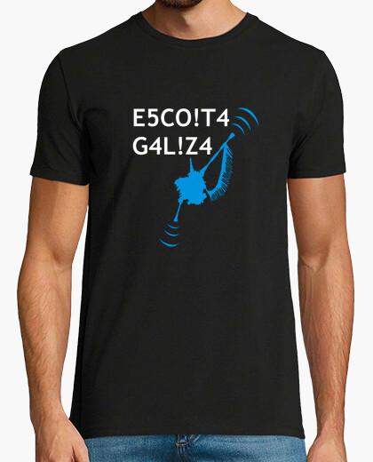 Tee-shirt escoita galiza