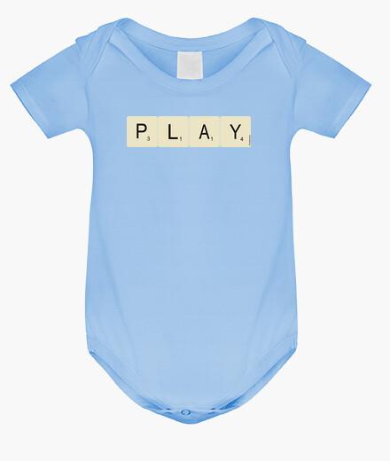 Ropa infantil eScrabble Play