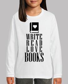 escribir leer libros de amor