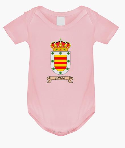 Ropa infantil Escudo Apellido Gómez