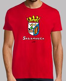 Escudo de Salamanca Dibujado con Texto