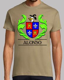 Escudo heráldico del apellido ALONSO