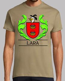 Escudo heráldico del apellido LARA