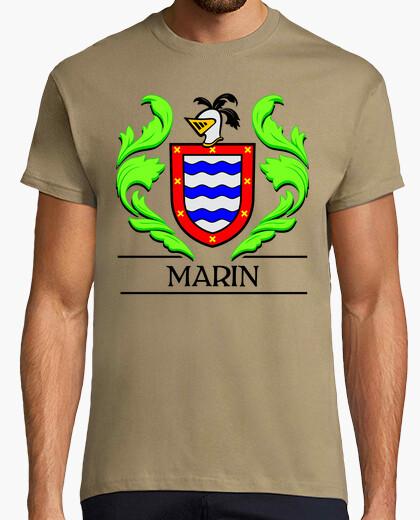 Camiseta Escudo heráldico del apellido MARIN