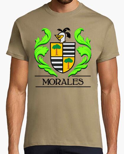 Camiseta Escudo heráldico del apellido MORALES